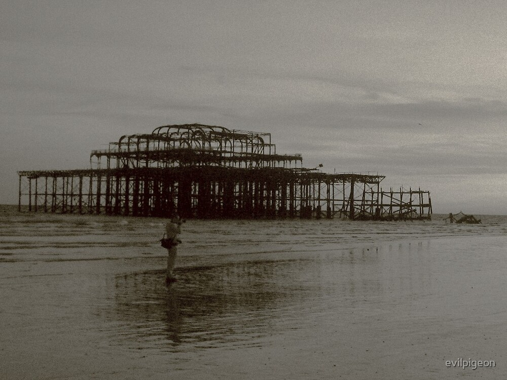 west pier by evilpigeon