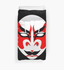 Kabuki Mask Duvet Cover
