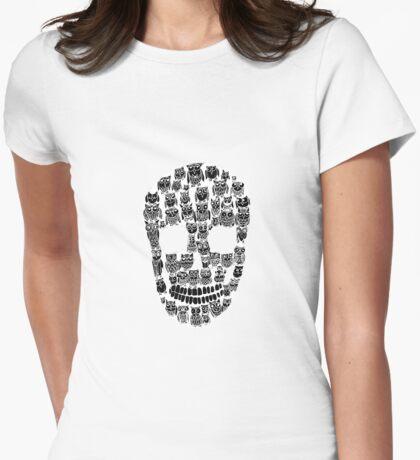 Owl skull (white) T-Shirt