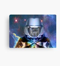 Alone  in Space Canvas Print