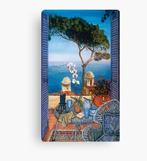 Ravello's Castle Canvas Print