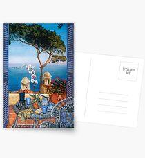Ravello's Castle Postcards