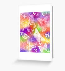 Beautiful Butterflies by Julie Everhart Greeting Card
