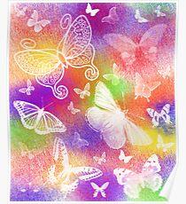 Beautiful Butterflies by Julie Everhart Poster