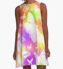 Beautiful Butterflies by Julie Everhart A-Line Dress