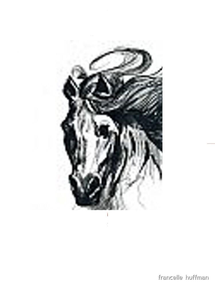 HORSE T-SHIRT by franniesbest
