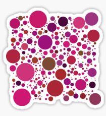 Multitude de ronds Sticker