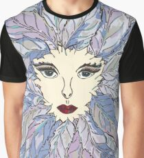 Green Lady - Winter Graphic T-Shirt