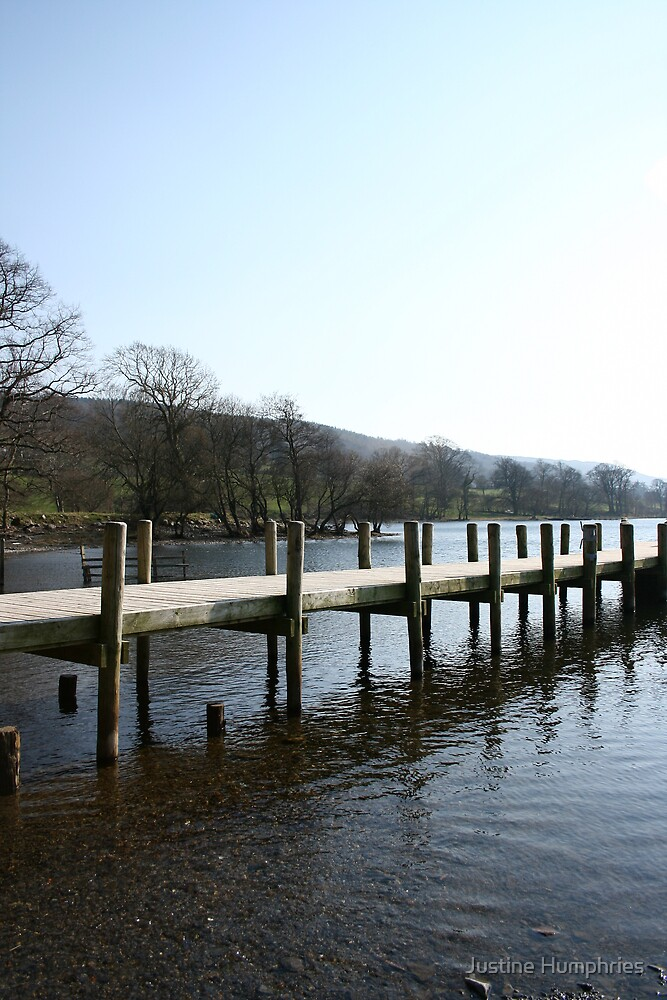 Coniston Waters - Cumbria by Justine Humphries