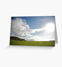 Icelandic Pasture Greeting Card