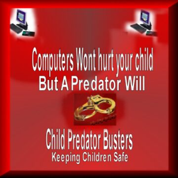 Child Predator Busters Logo by CPBusters