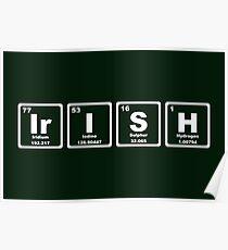 Irish - Periodic Table Poster
