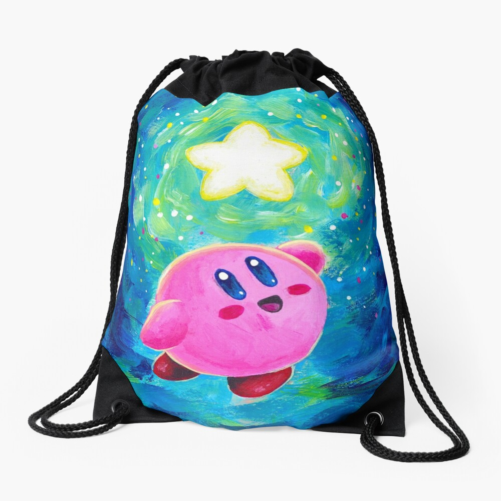 Kirby Star Drawstring Bag