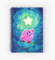 Kirby Star Spiral Notebook