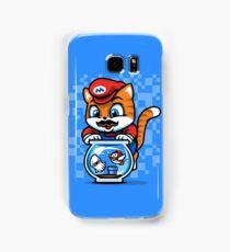 It's A ME-OW, Mario! Samsung Galaxy Case/Skin