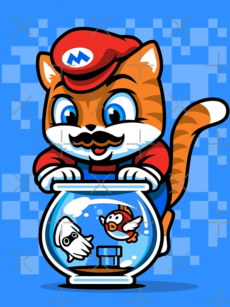 It's A ME-OW, Mario! by harebrained