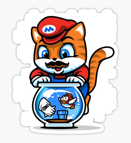 It's A ME-OW, Mario! Sticker