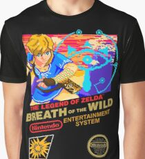 Breath of the Wild NES Graphic T-Shirt
