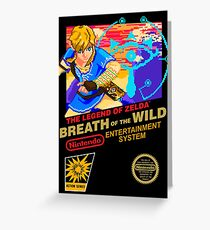 Breath of the Wild NES Greeting Card