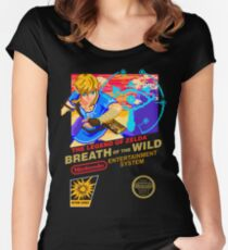 Breath of the Wild NES Women's Fitted Scoop T-Shirt