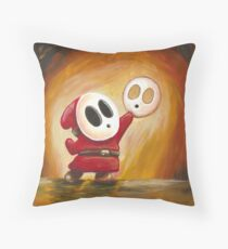 Alas, Poor Shy Guy! Throw Pillow