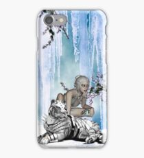 Awesome snow tiger  iPhone Case/Skin