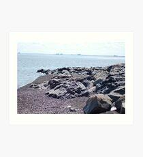 Lake Superior Shore Art Print