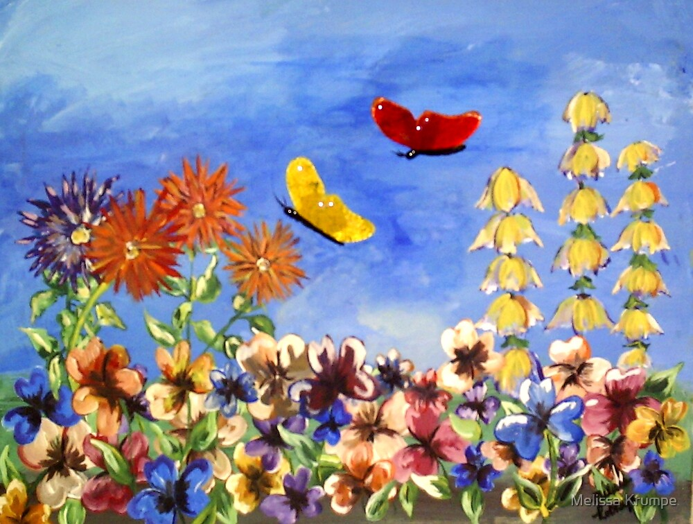 Butterflies by Melissa Krumpe