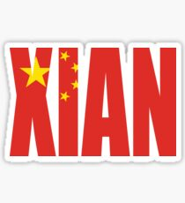 Xian Sticker