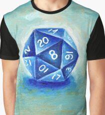D20 Die / Dice Graphic T-Shirt