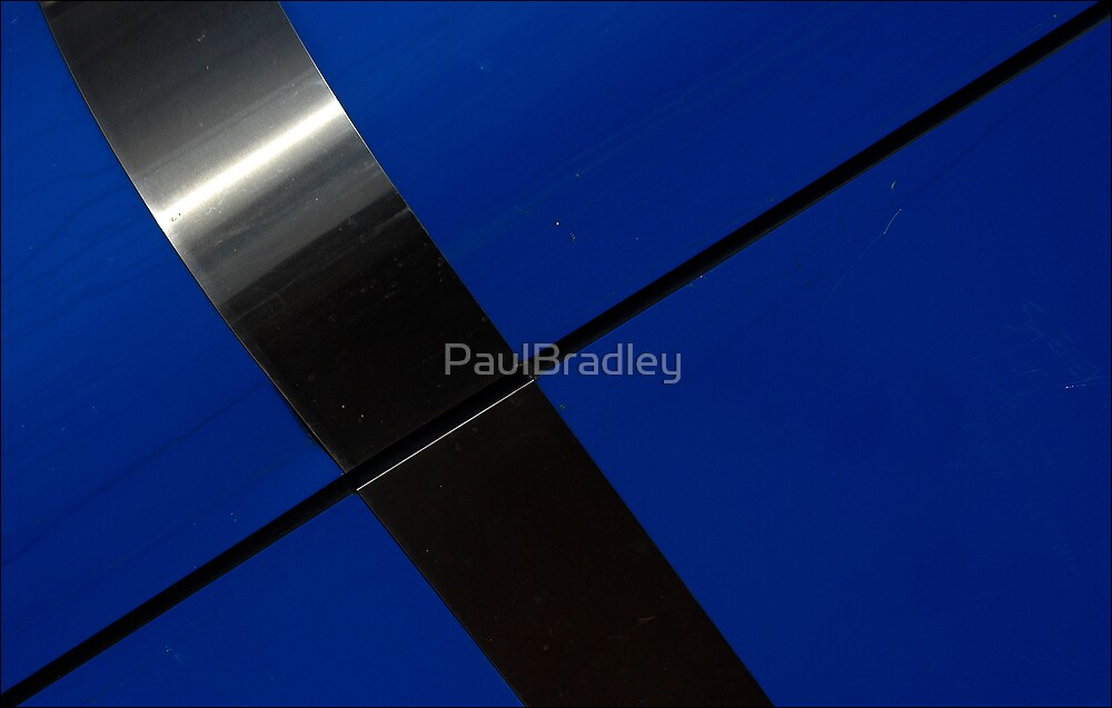 Abstract - Blue by PaulBradley