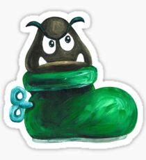 Kuribo / Goomba's Shoe Sticker