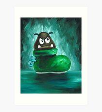 Kuribo / Goomba's Shoe Art Print