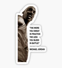 Michael Jordan - quote Sticker