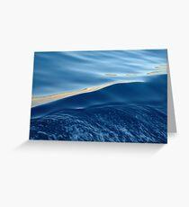 Agean sea Greeting Card