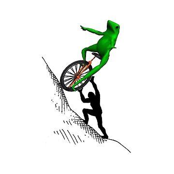 Dat Boi Sisyphus - One Must Imagine Dat Boi Happy by neememes