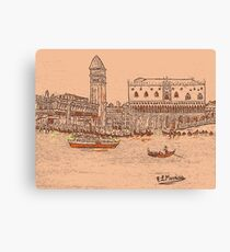 Beautiful Venice Canvas Print