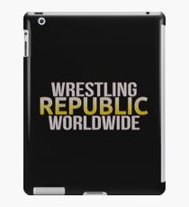 WRESTLING REPUBLIC iPad Case/Skin