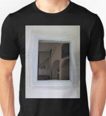 Inside Cottage Window Unisex T-Shirt