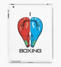 I Love Boxing iPad Case/Skin