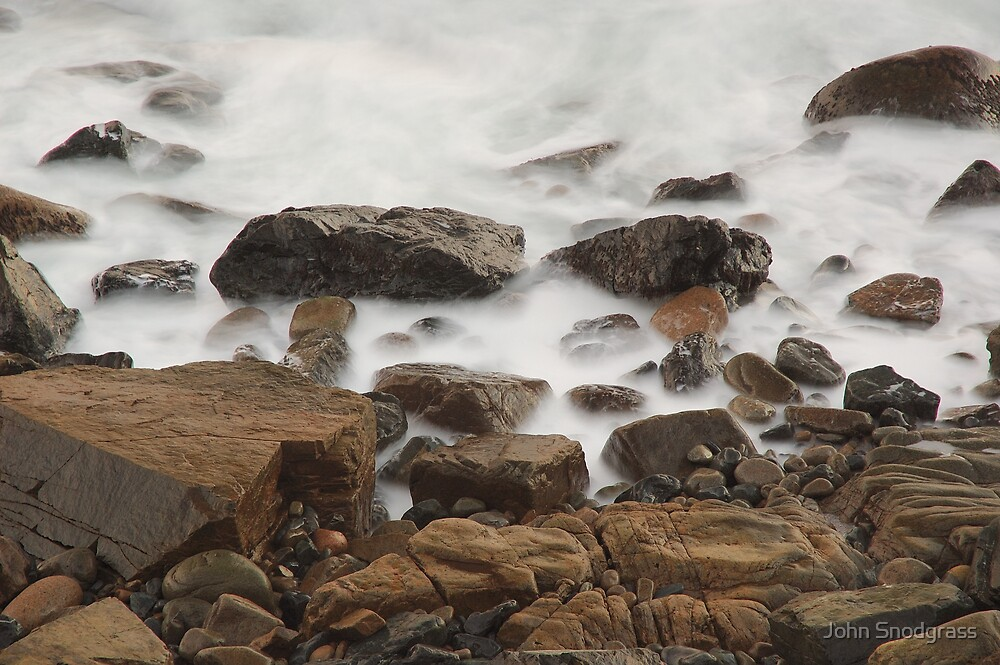Stones and the Mist by John Snodgrass
