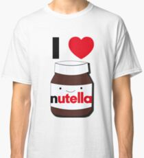 I love Nutella Classic T-Shirt
