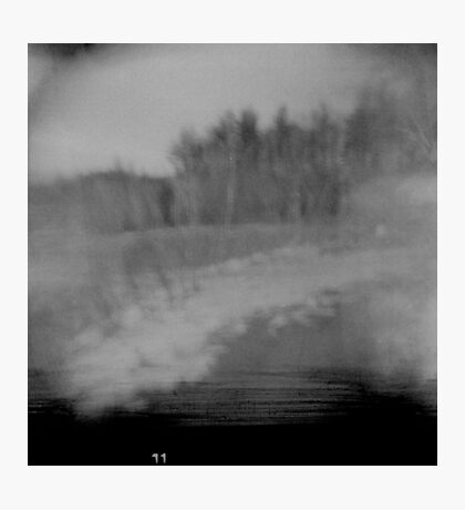 you were cold on those walks with her but you kept going. Photographic Print