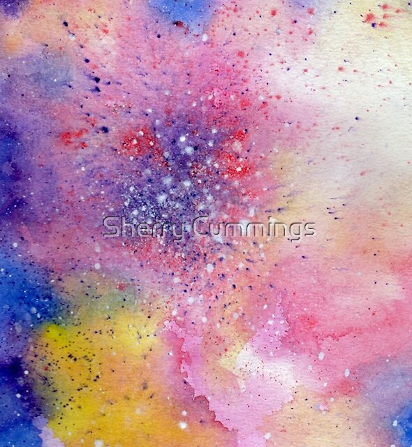 Explosive Galaxy by Sherry Cummings