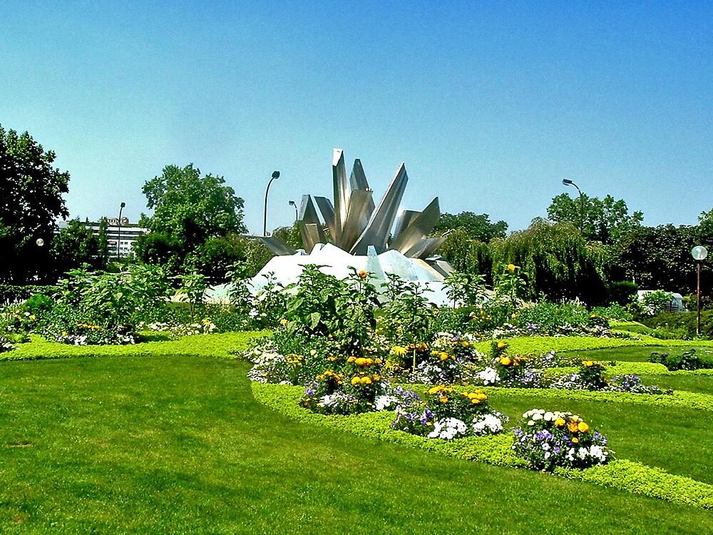 Paris Park by Erika Benoit