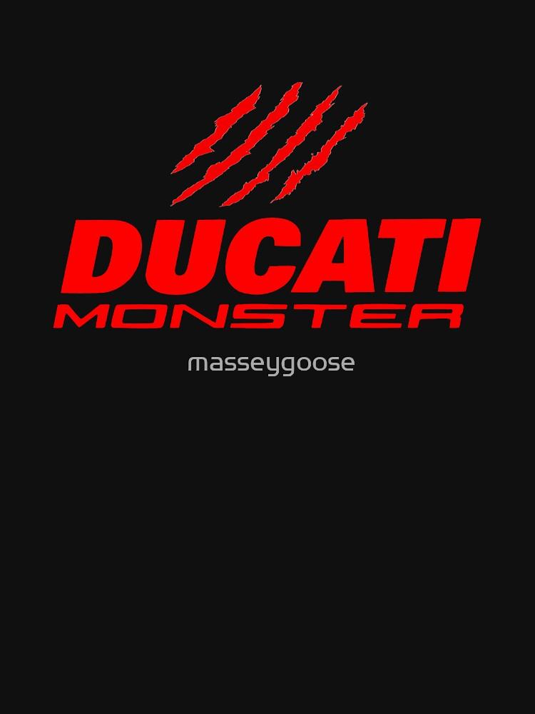 DUCATI MONSTER by masseygoose