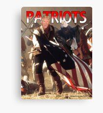 Patriots Canvas Print
