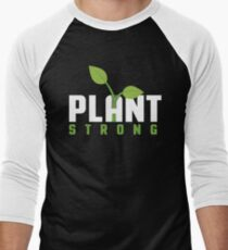Plant Strong Men's Baseball ¾ T-Shirt