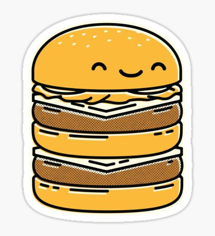 Happy Burger  Sticker