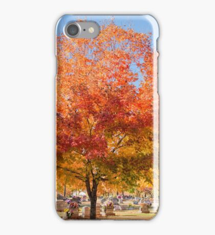 Sugar Maples in Autumn iPhone Case/Skin